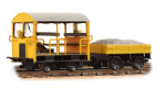 32-992 Bachmann Branchline Wickham Type 27 Trolley Car BR Engineers Yellow